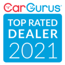 CarGurus Top Rated Dealer 2021